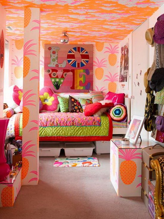 Awesome painting ideas for tween girl bedroom photos