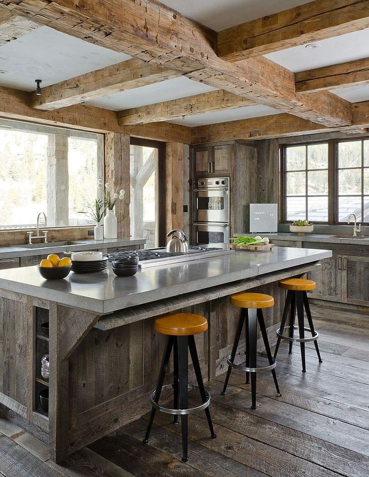 Best rustic kitchen design residence style Pictures 05
