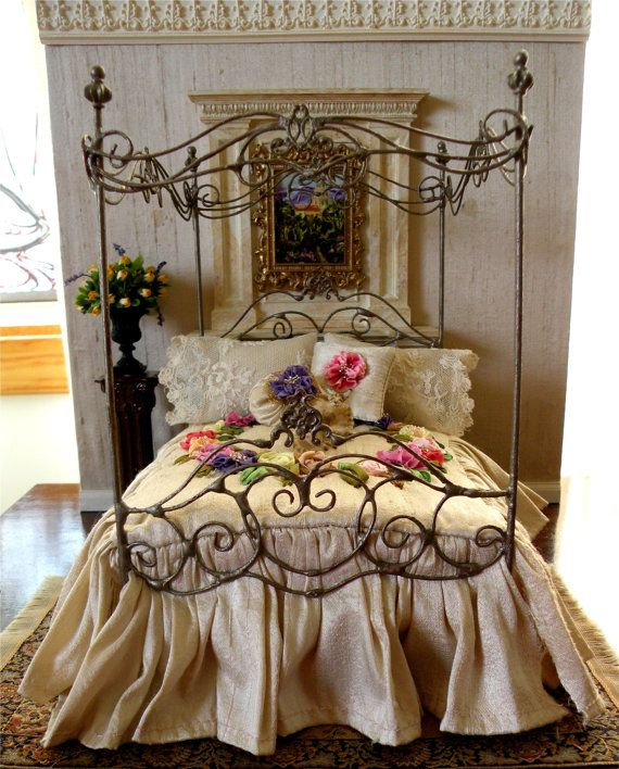 Canopy Beds for Sale Dressed Wrought Iron Canopy Bed images 01