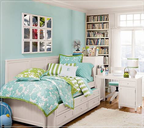 cool teenage girl bedroom ideas with soft color pic02 - Ikea Bedroom Ideas For Teenagers