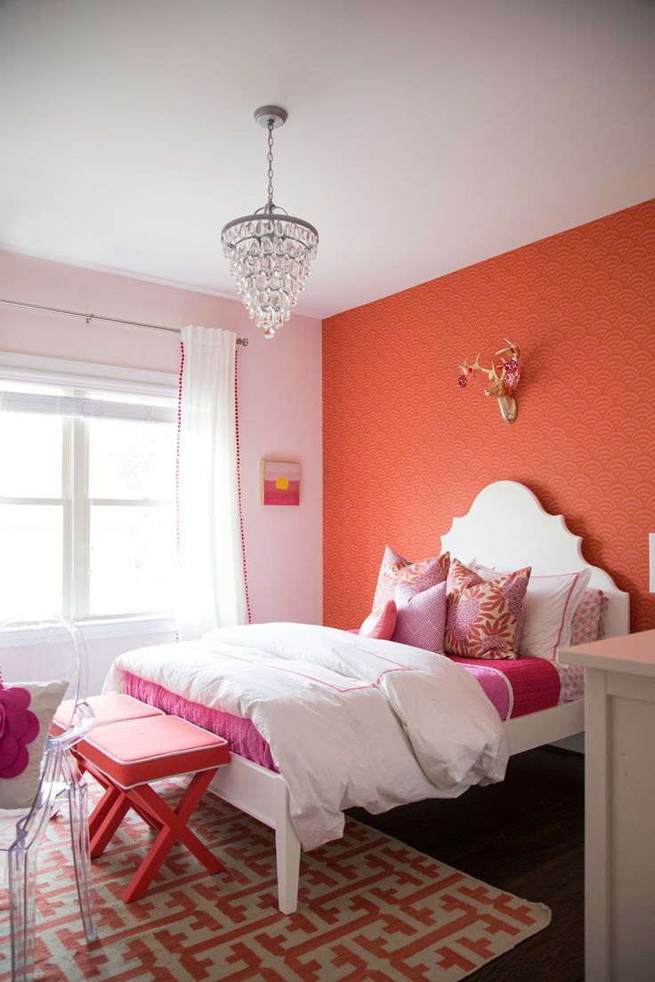Design Ideas for Tween Bedroom Berry Fleur Chinoise & Berry Greek Key styled by Darleen Meier