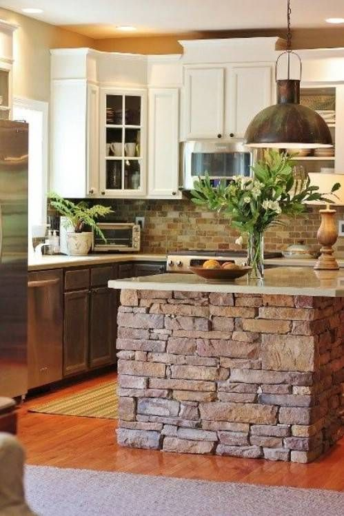 Great rustic kitchen design ideas for live in the country or your home is in the city pic03