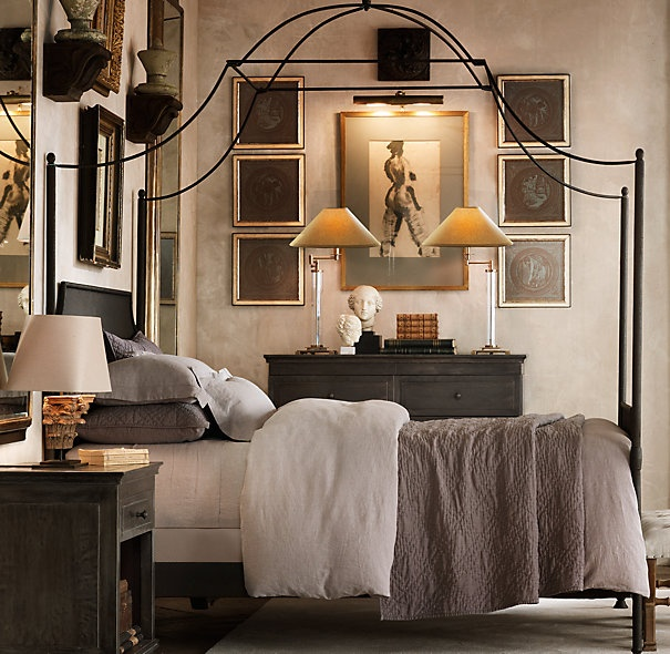 Love iron canopy beds ideas for beautiful bedroom image 03