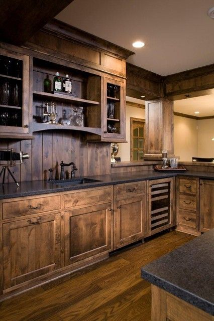 Love rustic kitchen design remodel ideas image 015