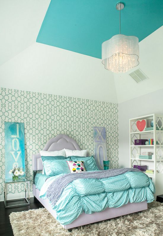 Lovely Teenage Girls Bedroom Ideas with Cool Lighting pictures 25