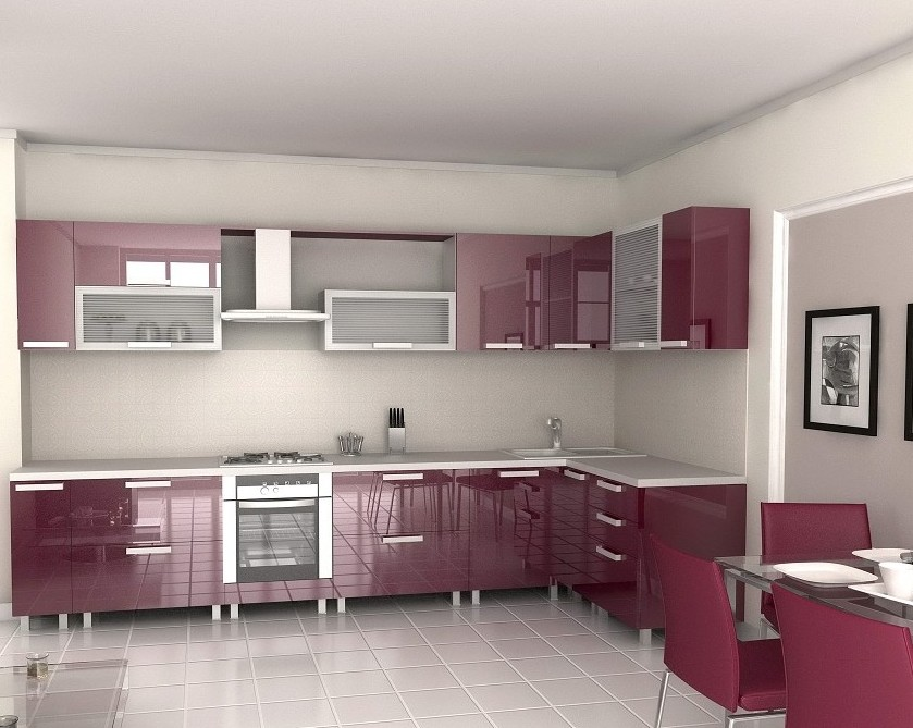 Simple house interior design kitchen image for Simple house interior design