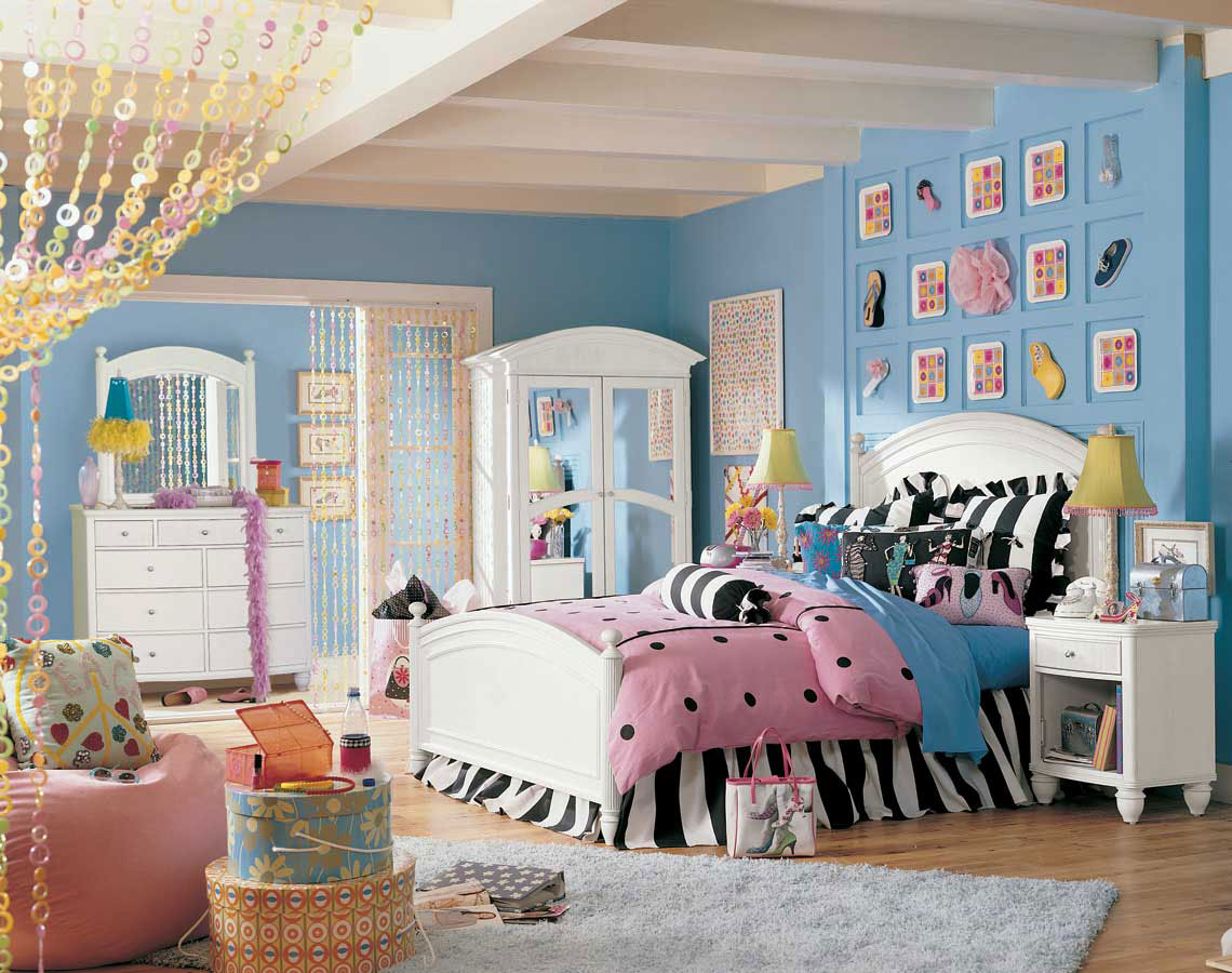 Pretty bedroom ideas for teenage girls pic01