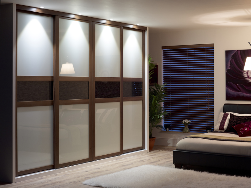 Sliding wardrobe doors and their benefits for your home for 4 door wardrobe interior designs