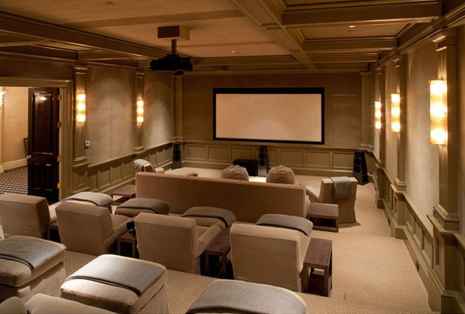 Awesome Furniture Home Theater Designers Kirsten Fitzgibbons And Kelli Ford