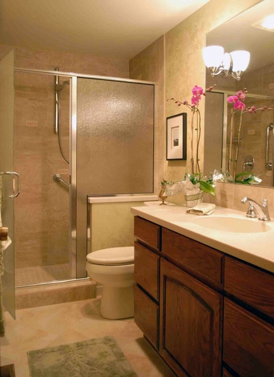 Fabulous Beige Toilet And Sinks Ideas Modern Double Sink