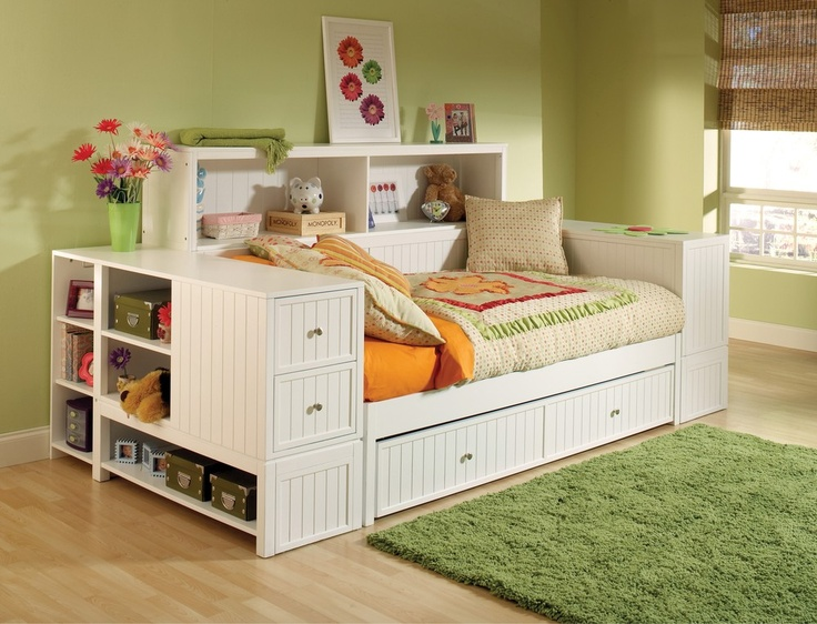 Cody Bookcase Daybed With Trundle Or Storage Drawer Pic 5