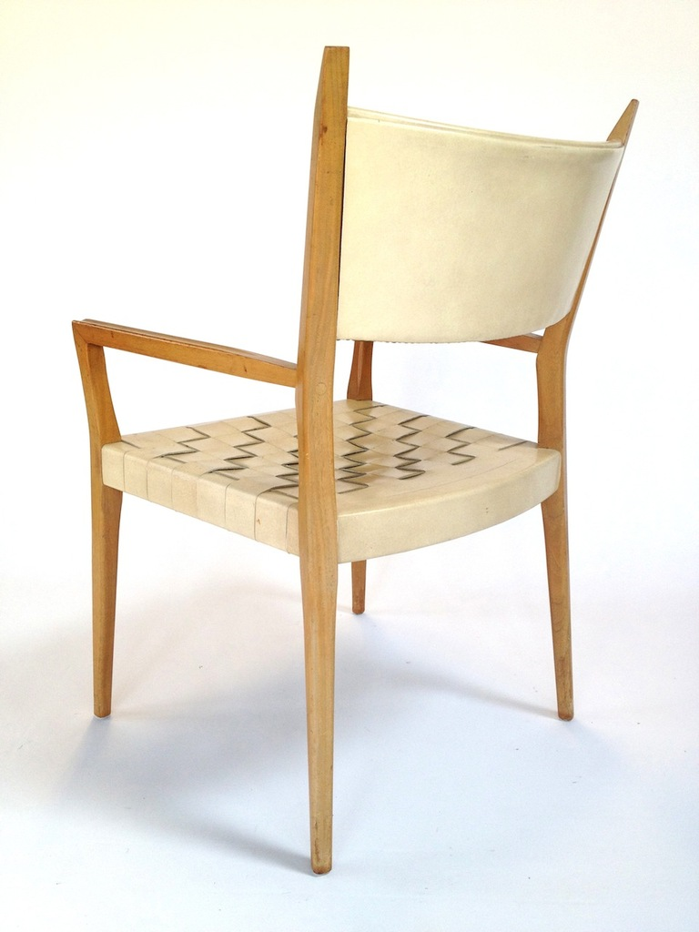 Cream Leather Dining Room Chairs