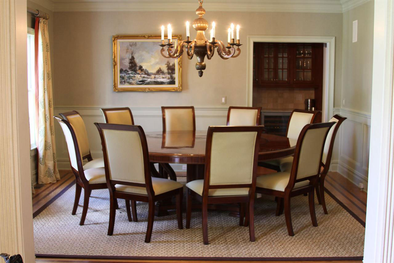 Elegant Round Dining Room Tables For 8 Photos24