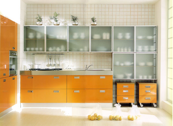 Glass Kitchen Cabinet Doors Images