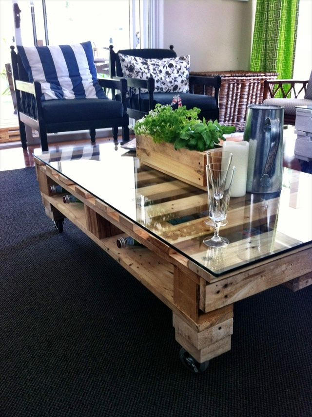 Related: Inspiring Diy Pallet Coffee Tables Pictures