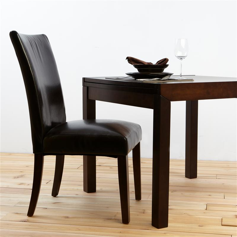 High Back Leather Dining Chairs Pictures