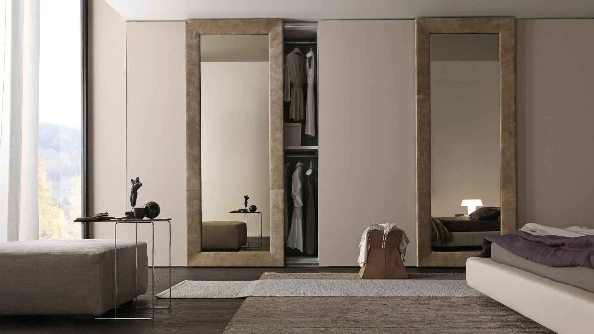 Interior Sliding Doors Sliding Mirror Wardrobe Door Designs