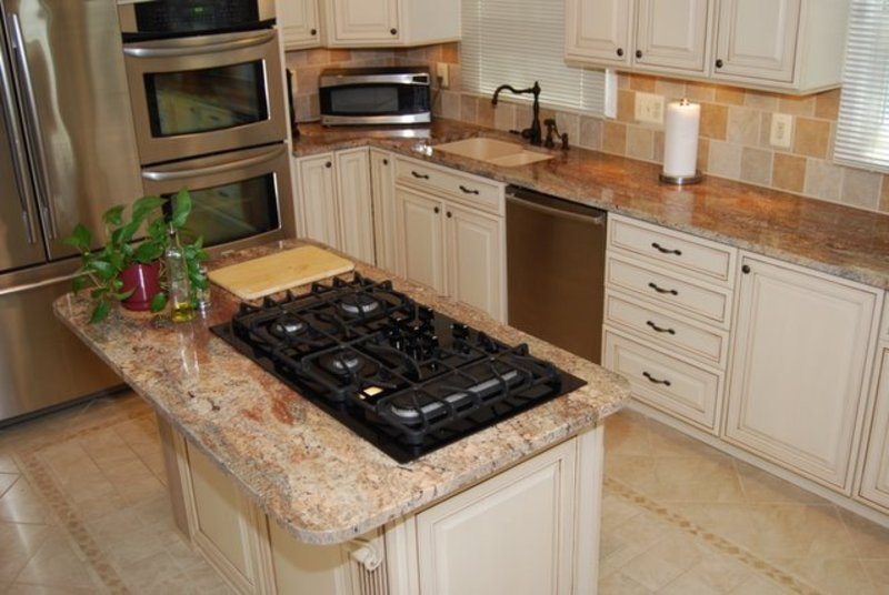 Kitchen With Granite Countertops Great Design Pictures13