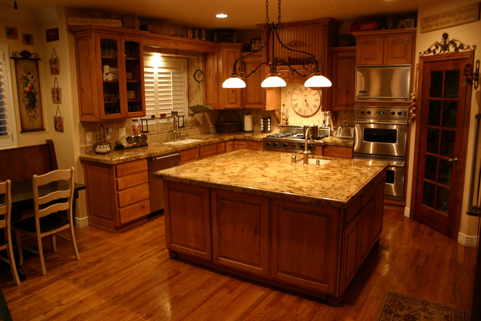 Kitchen With Granite Countertops Pictures14