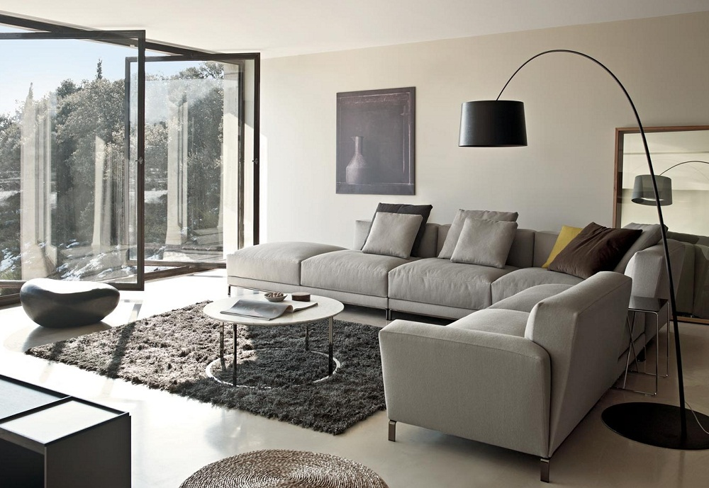 Living Room Couch Ideas Gray Sectional Sofa