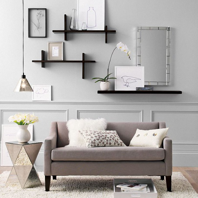 Living Room Wall Shelves Design img21 - Home Interior Design Ideas