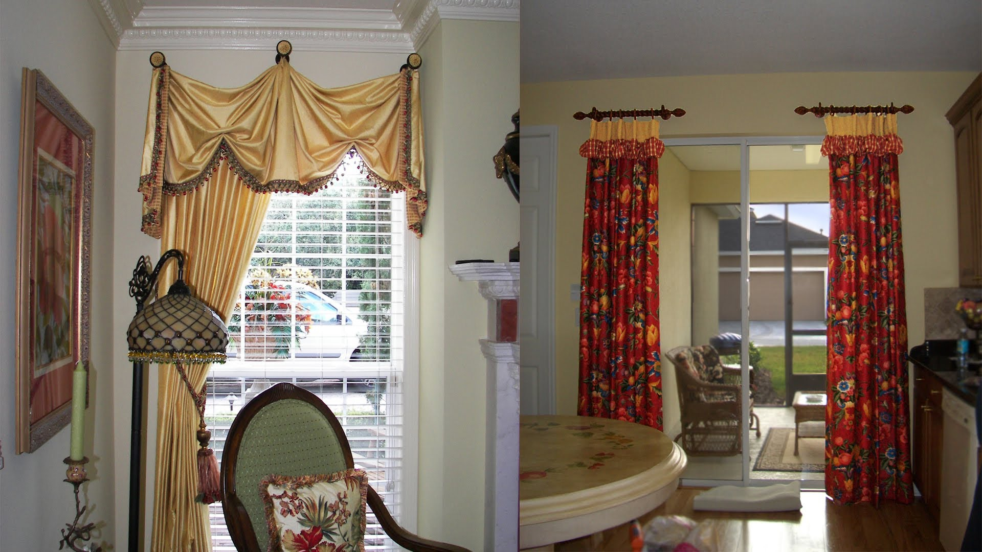 Living Room Window Treatments Draperies Pic16