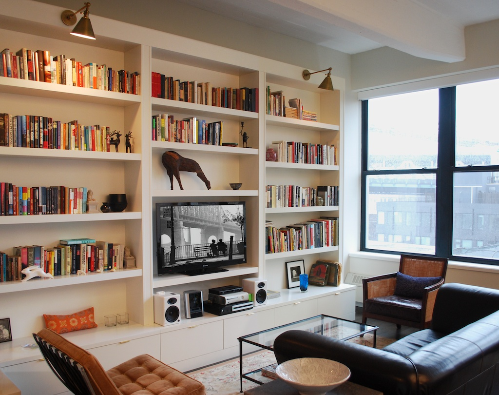 Living Rooms With Built In Bookcase Wall Units img23
