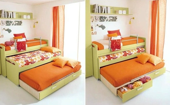 Save Space Smartly With Trundle Beds Pictures 12