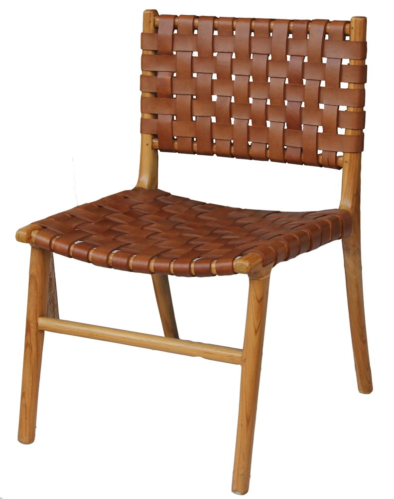 Strap Leather Dining Chairs