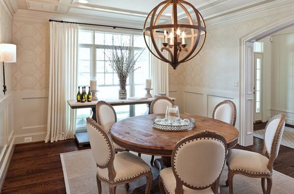 Stunning Round Dining Room Tables Pic1