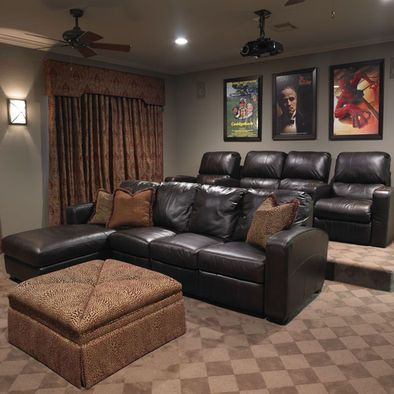 home theater platform. theater seating home build a platform to raise the area behind first couch pictures 02 n