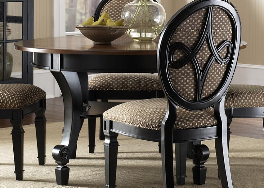 Traditional Or Formal Round Dining Room Table Sets Pictures32