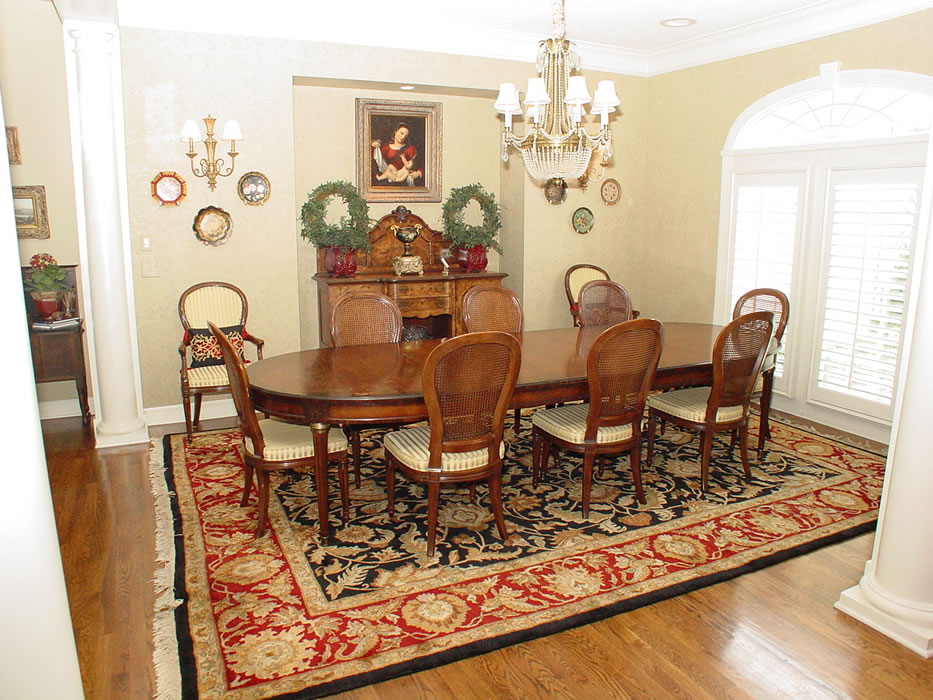 Traditional Oriental Area Rug For Dining Room