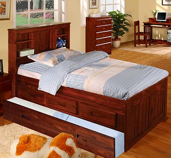 Twin Captain Bed With Trundle Images 19