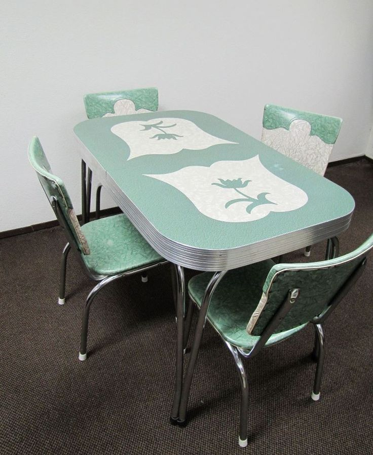 ... Vintage Dinette Sets In Reader Kitchen Tables And Chairs Images 31 ...