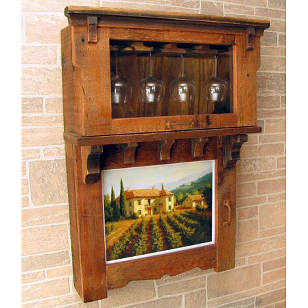 Wall Wine Storage Cabinet pic16