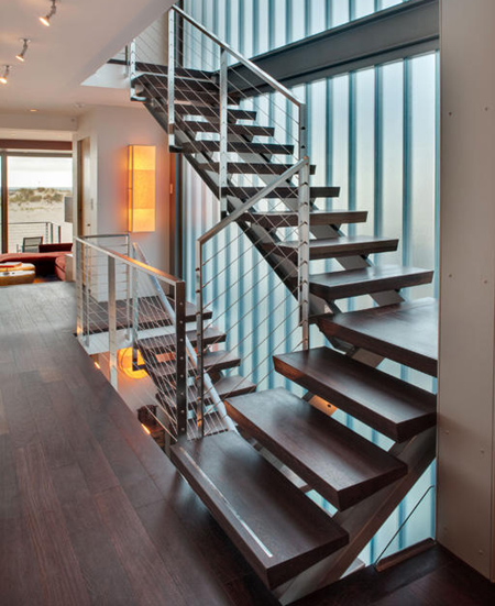 Curved Switchback Stairs Pictures