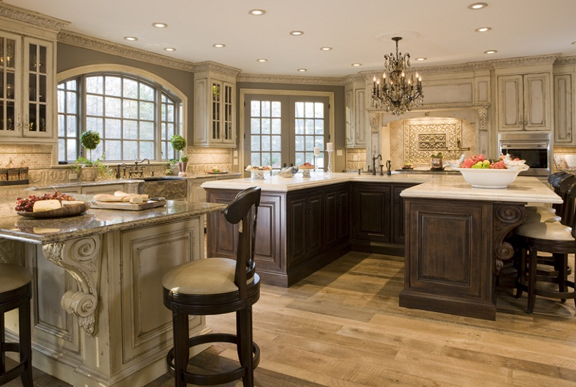 Custom Luxury Kitchen Traditional Atlanta Luxury Custom Homes  Home Interior Design Ideas