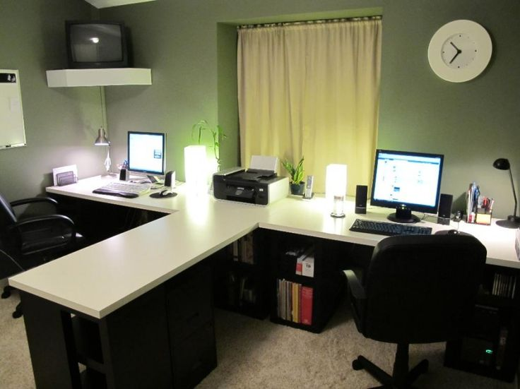 Ikea T Shaped Desk Home Office Design
