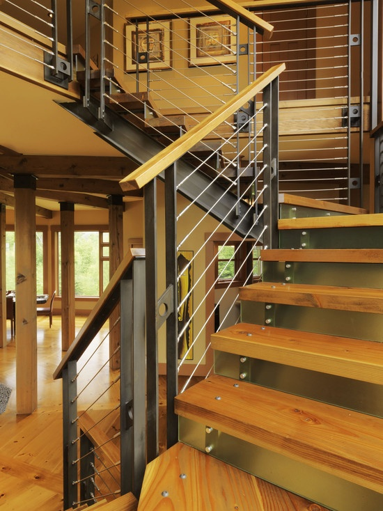 Modern Switchback Stairs Pictures