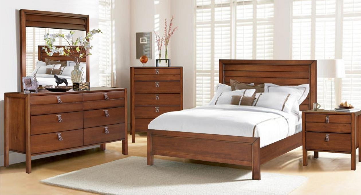 Solid Wood Bedroom Furniture With Dresser - Home Interior Design Ideas