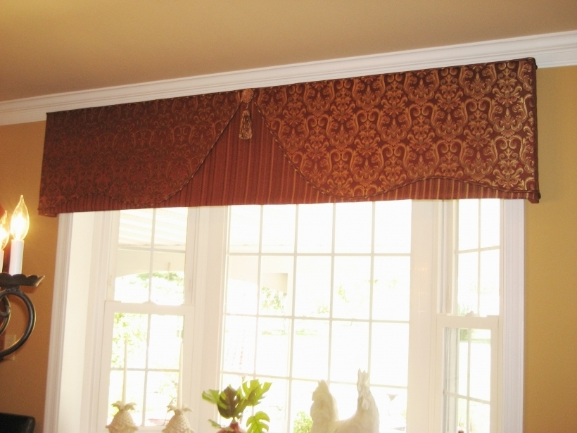 Comfy cornices for windows custom bay window treatments for Custom design windows
