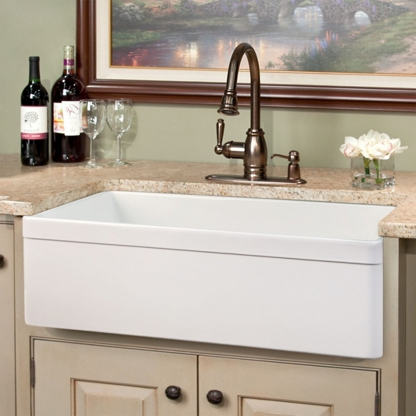 Great Drop In Farmhouse Kitchen Sinks Black Home Interior Design Ideas