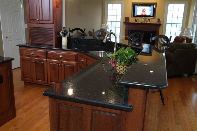 Awesome Black Quartz Countertops Contemporary Black Laminate Photos