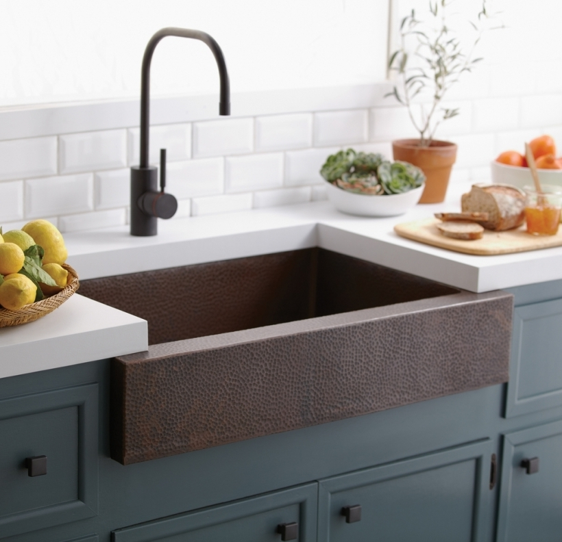drop in farmhouse kitchen sink drop in farmhouse sinks copper kitchen sinks pic 8833