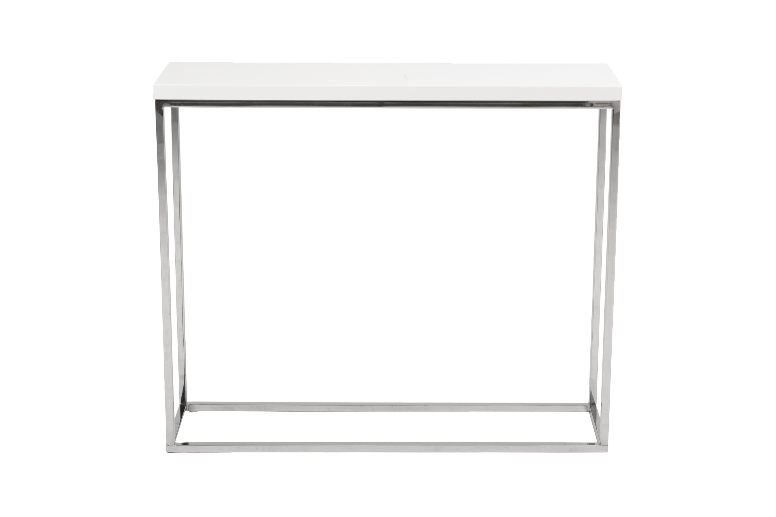 Brilliant White Lacquer Console Table Throughout Teresa Console Table Multiple Colors Eurostyle