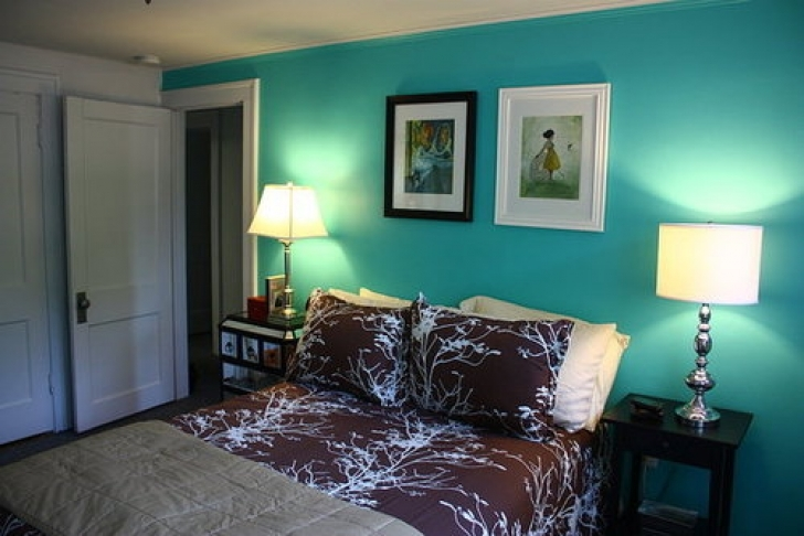 Classy Tiffany Blue Paint Color With Regard To Bedroom Makeover Ideas Picture
