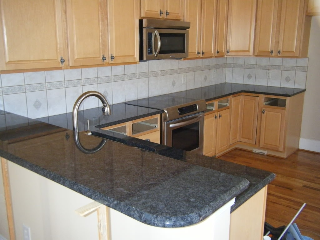 Comfy Blue Pearl Granite Countertop And Steel Grey Granite Pictures