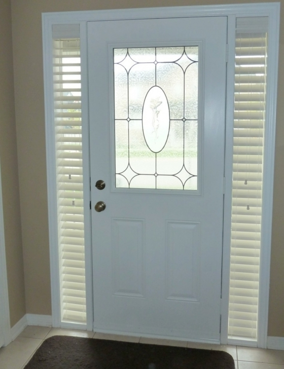 Cosy Sidelight Blinds Custom Design Ideas Pic