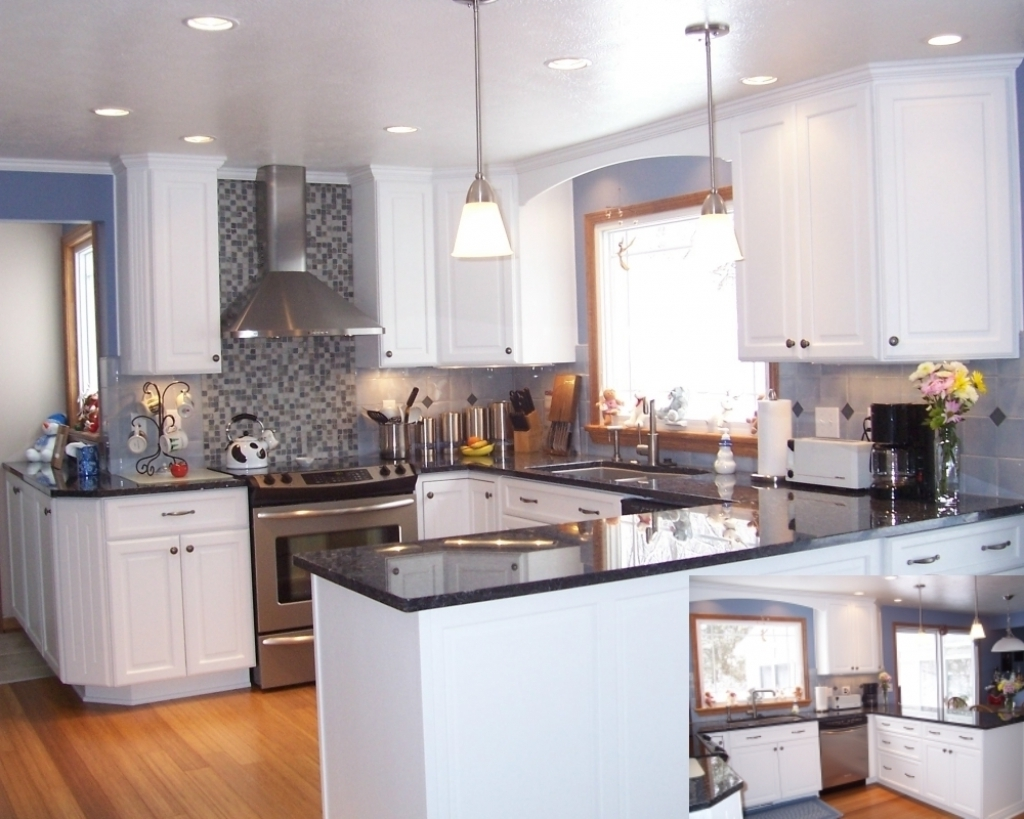 Fantastic blue pearl granite countertop ideas home for Blue countertops kitchen ideas